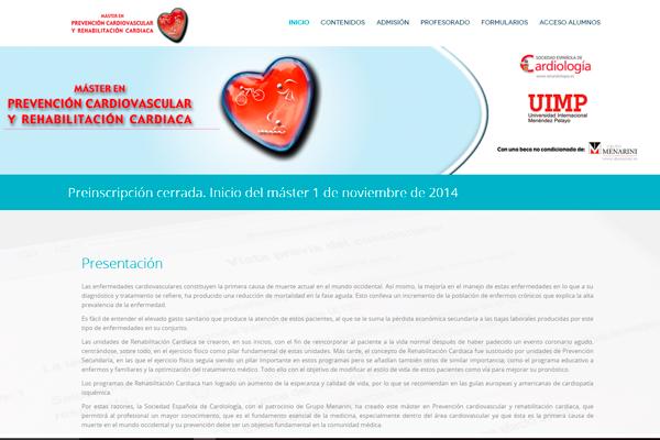 Máster en prevención cardiovascular y rehabilitación cardiaca
