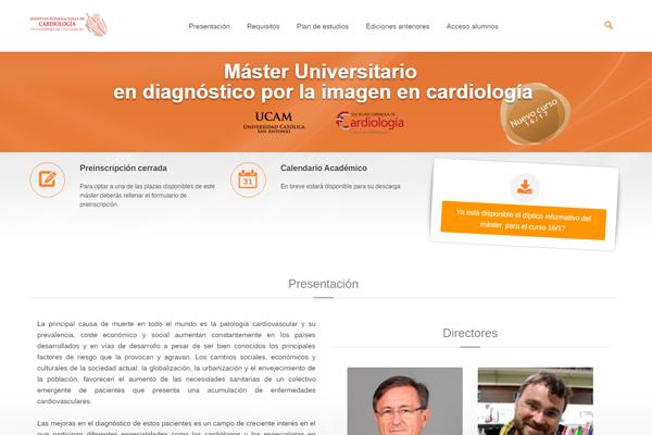 Máster Univ. en diagnóstico por la imagen en cardiología